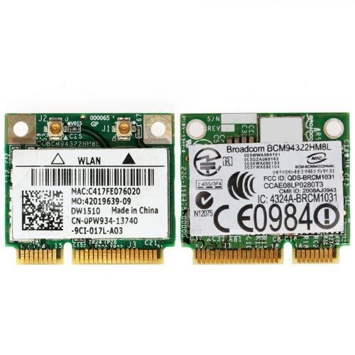 Mini PCI-E BCM94322HM8L DW1510 Dual Band 300M Wireless Card For DELL E4200 E5500