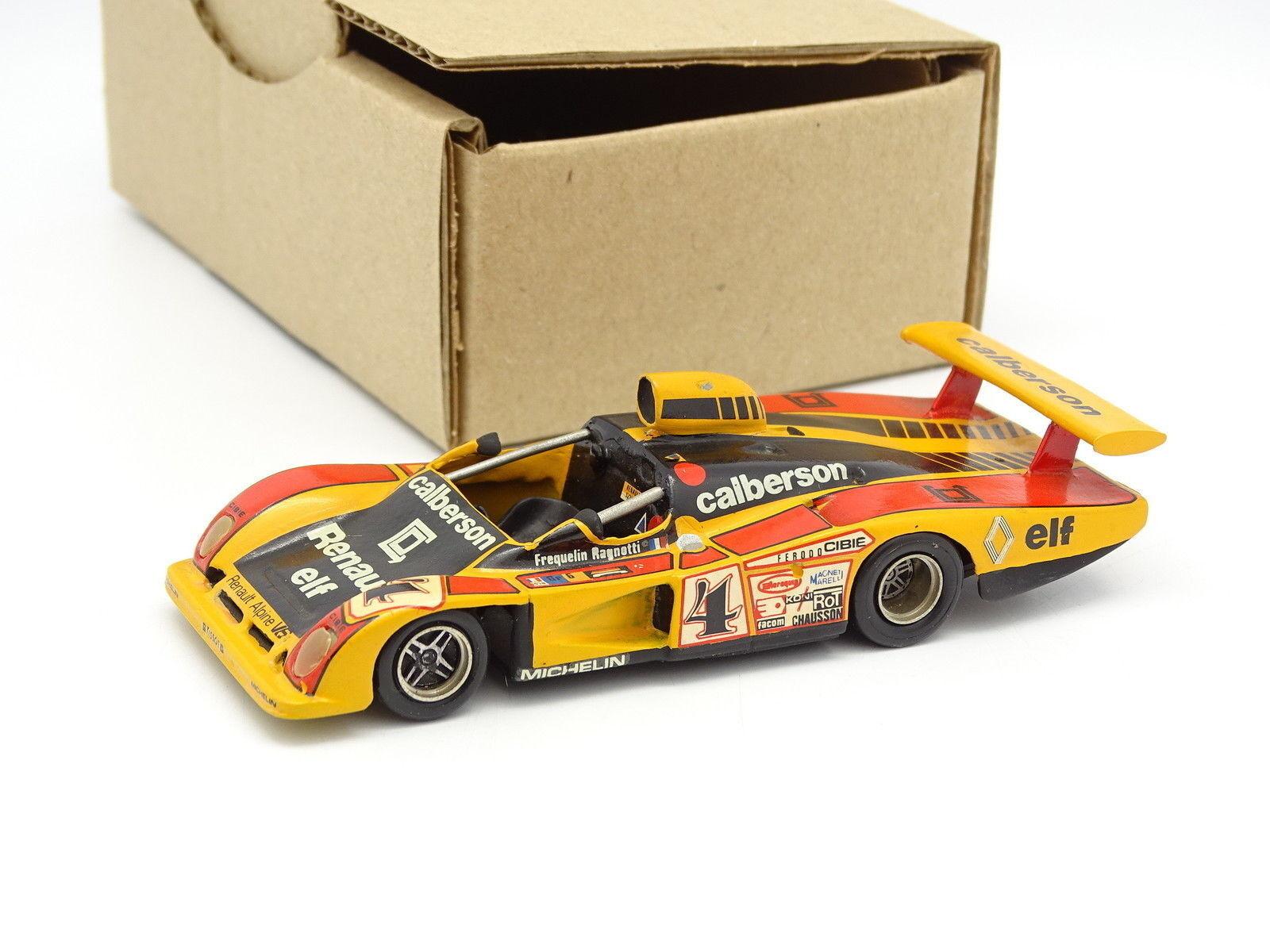 Mini Racing Kit Monté SB 1 43 - Alpine Renault A442 Calberson Le Mans 1978 N°4