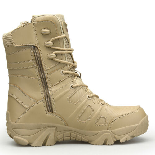Men Desert Tactical Military Boots Work Safty SWAT Climbing Hiking Hunting Boots