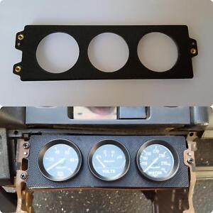 88-91-Honda-Civic-Hatchback-Sedan-Climate-Control-Gauge-Plate-52mm-3x-pod-ef9