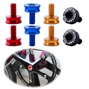 2Pcs MTB Bicycle Crankset Crank Parts Bottom Bracket Dust Proof Cover Cap Bolt