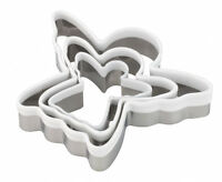 Tala Christmas Angel Fairy Cookie Biscuit Play-Doh Cutters Set of 3