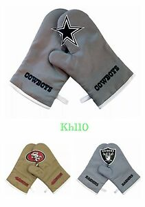 NFL-Team-Crossover-Cross-Mitts-Oven-Gloves-BBQ-Oven-Mitt