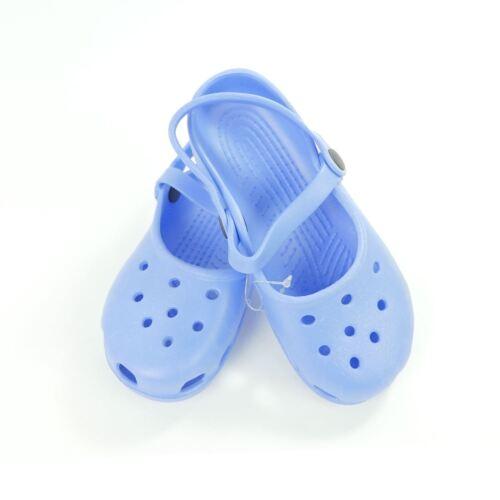 Damen Gummischuhe Blau 28 29 30 31 32 33 34 Ballerina Badeschlappen Hausschuhe