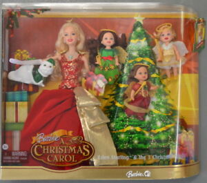 A Christmas Carol Spirits.Details About A Christmas Carol Eden Starling The 3 Christmas Spirits Barbie Doll Mint Nrfb
