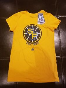 50 para Adidas mujer Camisa Golden Warriors Dri algod State Fit gZB7q