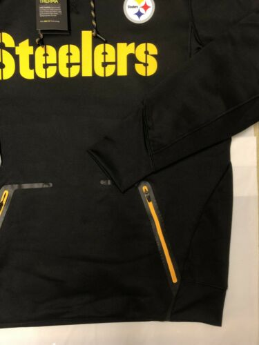 Thermal Jacket Mens Pittsburgh Nfl Steelers 2xl With Tags Coat New Hoodie Nike Bng6Iqww