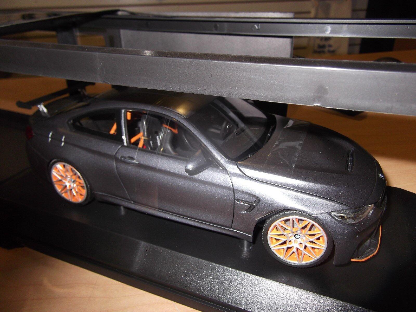 Bmw m4 gts f82 1,18 modell mini - auto - 80432411555 sammlerstück