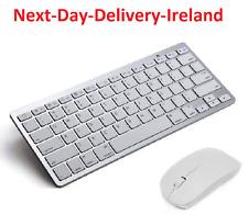 Wireless Bluetooth Keyboard & Mouse For Air ipad Mini Mac Computer PC Macbook