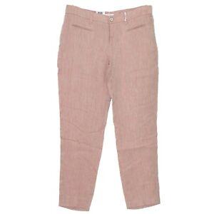 16888-MAC-Damen-Jeans-Hose-SALLY-NEW-Leinen-lachs-creme-mel-D-40-L-30-Inch-31