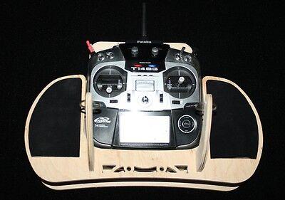 Senderpult für Futaba FX 22 als Bausatz 5-lag Birkenholz