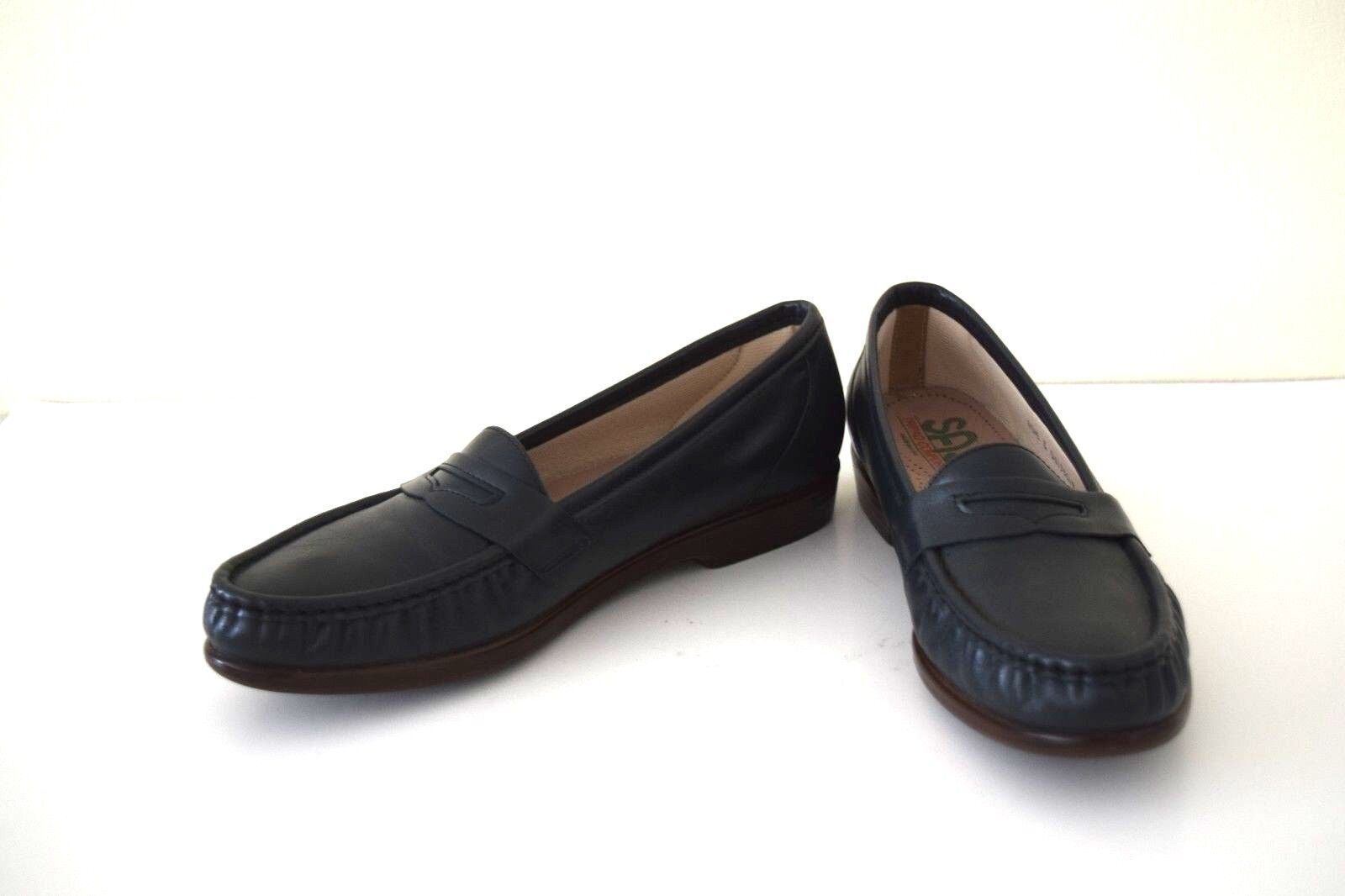 Zapatos de Cuero servicio servicio servicio Aéreo Especial 10.5 M comodidad Tripad PENNY Mocasines Para mujeres Informales Negro  80% de descuento