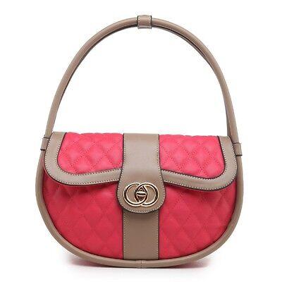 Designer Mode Promi Gesteppt Kunstleder Handtasche/Schultertasche