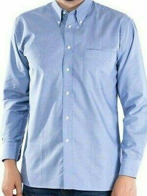 Williams C//H955 Mens Long Sleeve Oxford Work Shirt Silver Grey