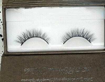 3D Tridimensional Multilayer Mink Eyelashes Draw Out Eye End Cross Short Style