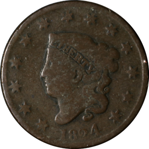 1824 Large Cent Great Deals From The Executive Coin Company