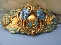 FAIRY BRIDAL HAIR CLIPS FANTASY BARRETTS FOR THICK HAIR JEWELRY ART NOUVEAU