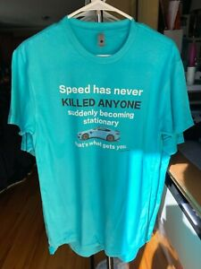 Jeremy Clarkson - Speed has never killed anyone t-shirt