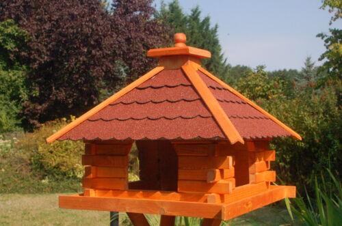 wahlweise mit Ständer und Solar V20 Vogelhaus versch Farben Größen u