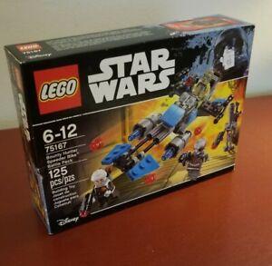 New//Factory Sealed Lego Star Wars Bounty Hunter Speeder Bike BP 75167