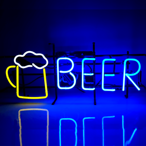 BEER Traditional Vintage Glass Neon Sign (not LED Neon) ... SALE