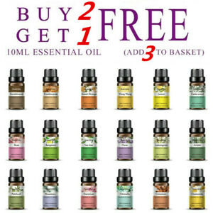 Natural-10ml-Essential-Oils-100-Pure-Aromatherapy-Essential-Fragrance-Aroma-CHZ