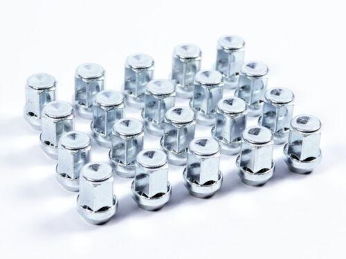 20 tuercas de rueda tuercas m14x1,5x34mm sw19 ke//kegelbund 60 ° llantas de aluminio cerrado