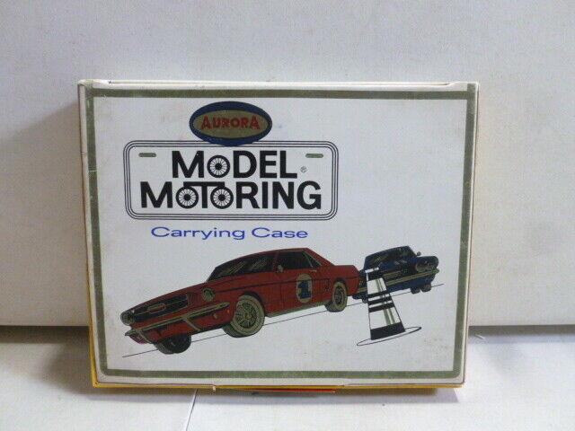 Aurora Model Motoring Slot Car Carrying Case