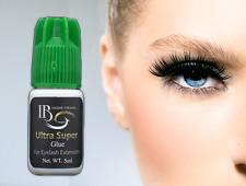 Eyelash Extension Professional Glue Adhesive Ultra Super Strong Bond Green Cap