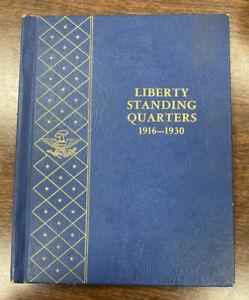 "/""WHITMAN CLASSIC/"" 9121 LIBERTY STANDING QUARTERS 1916-1930 ALBUM NEW FREE SHIP!"