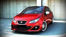 Spoilerlippe für Seat Ibiza  MK 4 IV FR Typ 6J Frontspoiler Spoiler Diffusor FR
