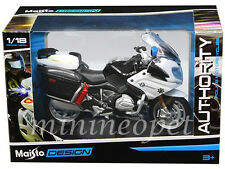 MAISTO 32306 BMW R 1200 RT POLICE MOTORCYCLE 1/18 CALIFORNIA HIGHWAY PATROL CHP