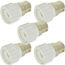 5x Light Bulb Adapter-B22 Bayonet Male To Mini GU10 Socket Converter Cap 60W LED