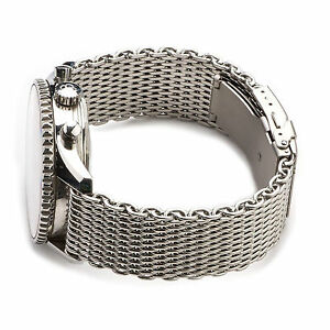 3f5438b8190 La foto se está cargando Shark-Mesh-Stainless-Steel-Watch-Band-Strap-fits-