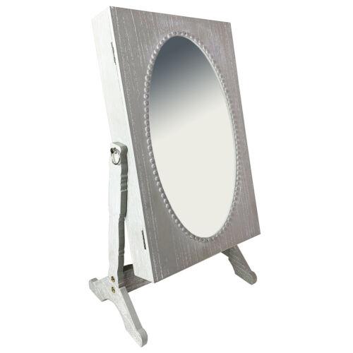 Armadietto PORTAGIOIE cassetta per gioielli armadio a specchio specchio shabby h62xb33xt22cm