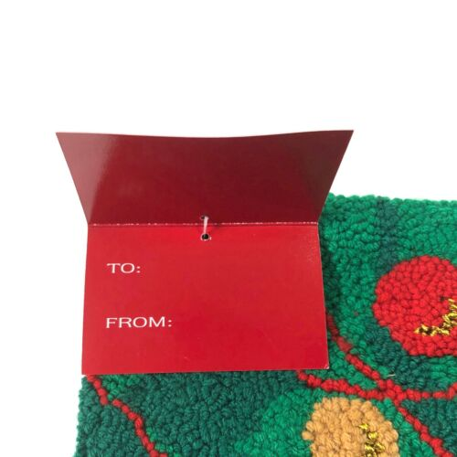 Details about  /Vintage Christmas Stockings Large Lined Brand New With Gift Tag