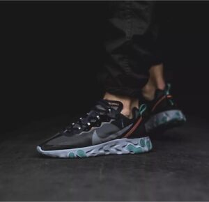 497c8971fd52 Nike React Element 87 Neptune Green size US Men s 4   Women s 5.5