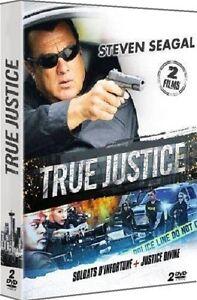 Pack-2-DVD-Steven-Seagal-SOLDATS-D-039-INFORTUNE-JUSTICE-DIVINE-NEUF-cellopha