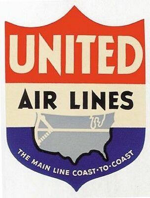 East African Airways   Vintage Looking   Airline  Sticker Decal Luggage Label