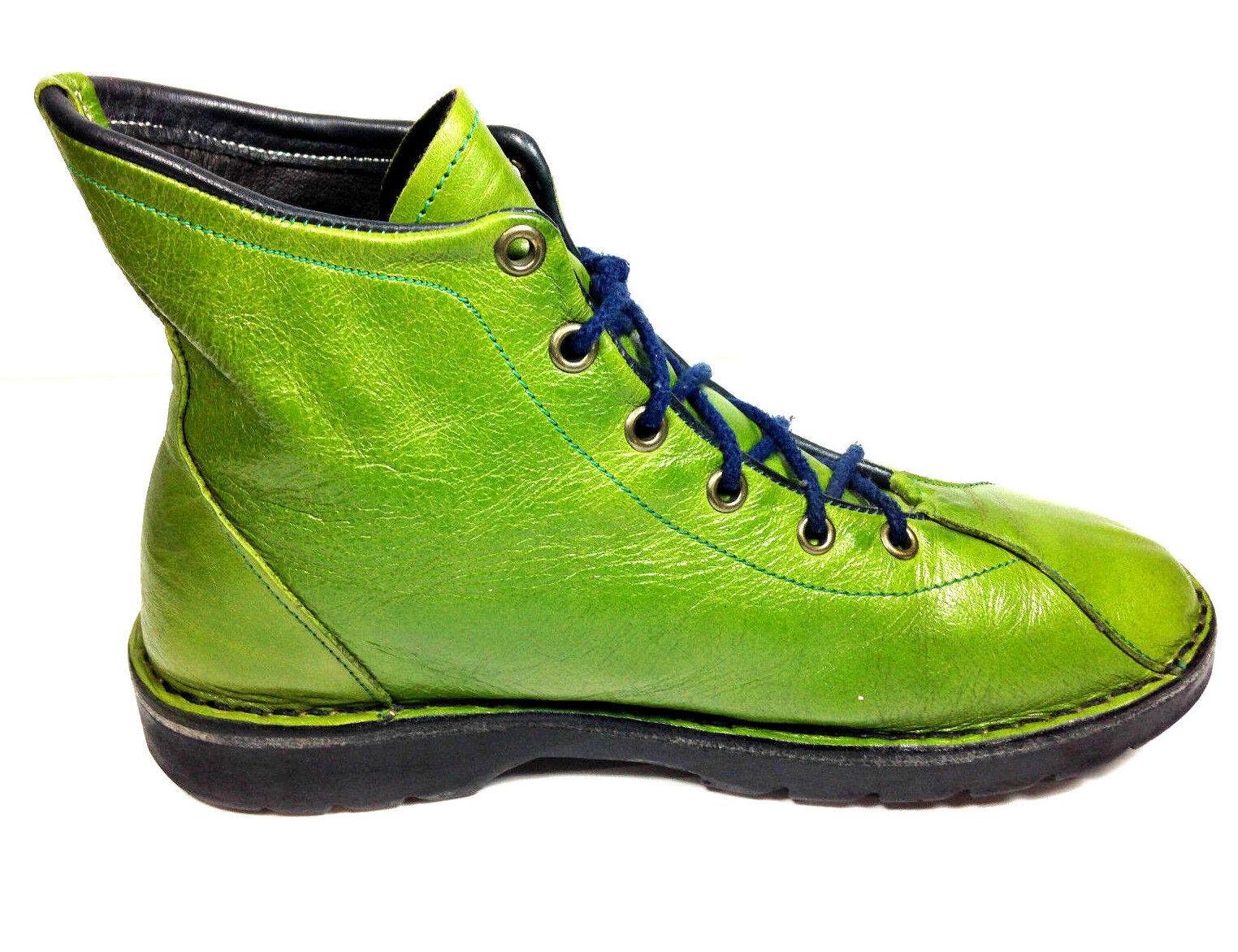 Vintage Arlidge & Bowen Women's Ankle Boot Green EUR.38 US.7.5