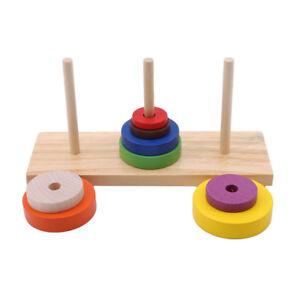 Wooden Balancing Game Children Puzzle Education Buliding Blocks Creative Toy 8E2