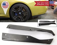 "Pair 19"" Rear Bottom Bumper Lip Apron Splitter Diffuser Valence for Subaru Mazda"