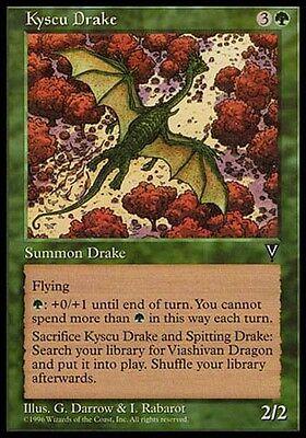 4x Kyscu Drake MTG Visions NM Magic Regular