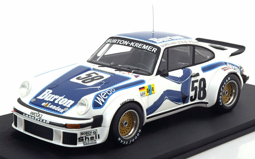 Top Speed Porsche 911 (934) 24h Le Mans 1977  58 in 1 18 Scale LE of 999  New