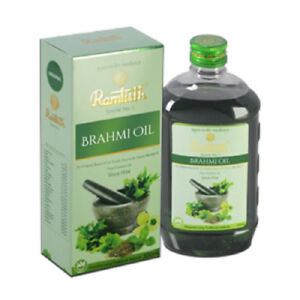 Details about NEW! Ramtirth 200ml Brahmi Hair Oil 22 Exotic Herbs For  Strong Roots Hair Loss