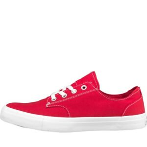 Men's da donna CONVERSE All Star Derby Ox Canvas Scarpe da ginnastica Rosso 41 UK 7.5