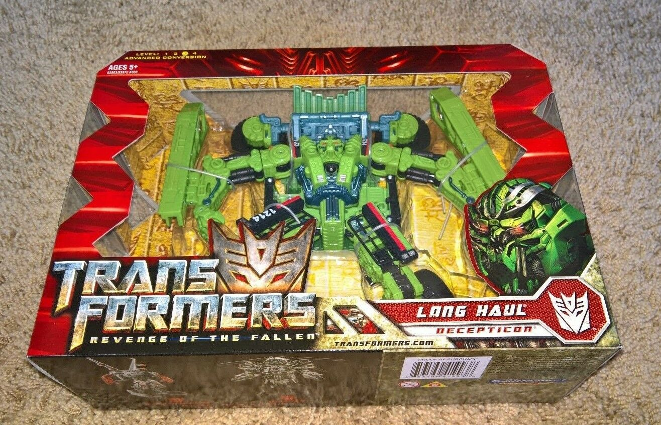 Long Haul - Transformers Revenge of the Fallen - NEW - MISB - NEAR FLAWLESS