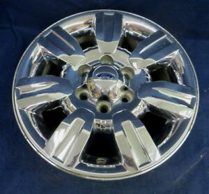 Ford F150 Bolt Pattern >> Details About Ford F150 Pickup 09 12 18 7 Spoke Chrome Clad Alloy Aluminum Wheel 1 Oem