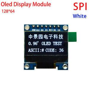 DC-3-3v-5v-White-0-96-034-SPI-Serial-128X64-OLED-LCD-Display-Module-for-Arduino