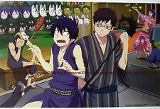 ao no Blue Exorcist mini poster anime official